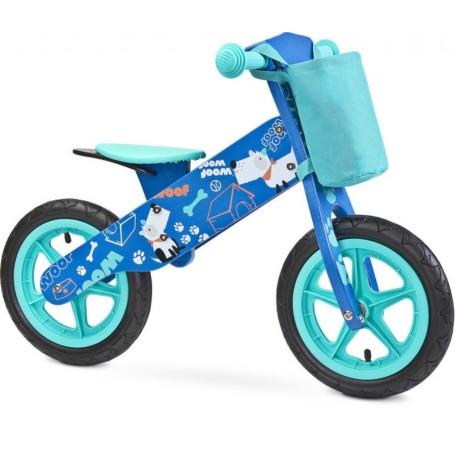 Caretero balansinis dviratukas ZAP Blue