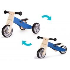 Medinis balansinis dviratukas EcoBlue 2in1