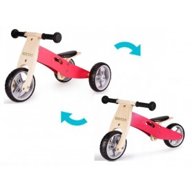 Medinis balansinis dviratukas Eco 2in1