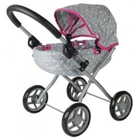 Lopšinis lėlės vežimėlis Stars