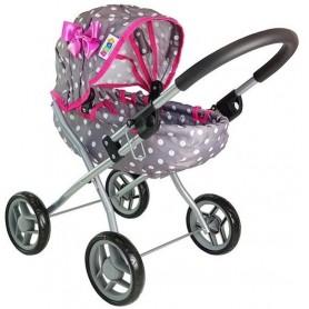 Lopšinis lėlės vežimėlis Žirniukai