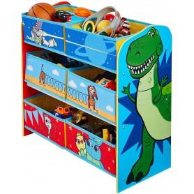 Žaislų lentyna - komoda Žaislų Istorija