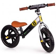Balansinis dviratukas be pedalų EcoToys Black