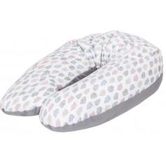 CebaBaby pagalvė nėščiajai ir maitinančiai Multi Clouds