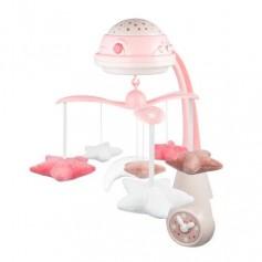 Karuselė su projekcija ir pulteliu Canpol Babies