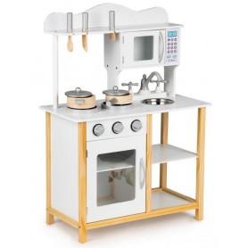 Medinė vaikiška virtuvėlė Classic Multi