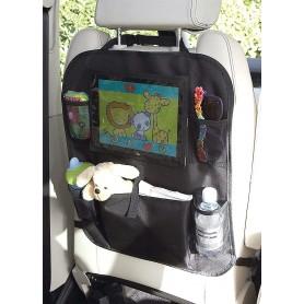 Clippasafe sėdynės apsauga su laikikliu planšetei