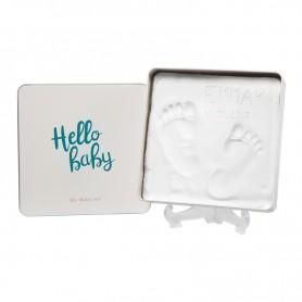Baby Art rinkinys kojytės ir rankytės atspaudukams Hello Baby