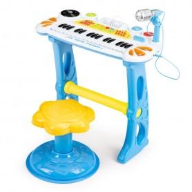 Vaikiškas pianinas su kedute MultiBlue