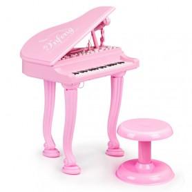 Vaikiškas fortepijonas su kėdute Rose