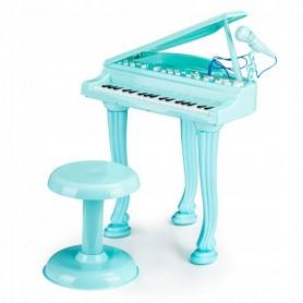 Vaikiškas fortepijonas su kėdute Mint