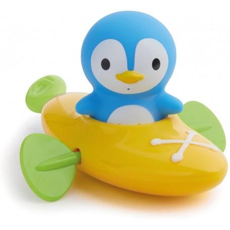 MUNCHKIN vonios žaislas Baidarė su pingvinu
