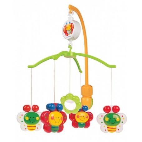 Canpol Babies muzikinė karuselė Drugeliai