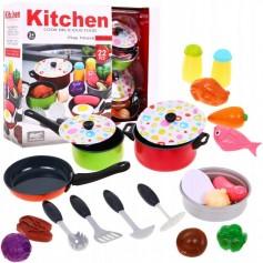 Vaikiški žaisliniai indai Multi su produktais