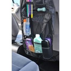 Automobilinės sėdynės atlošo apsauga, juoda