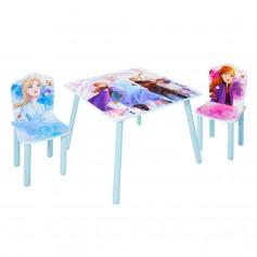 Vaikiškas staliukas su 2 kėdutėmis Frozen