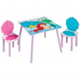 Vaikiškas baldų komplektas Undinėlė Arielė