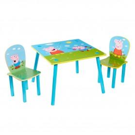 Staliukas su kėdutėmis Peppa Pig