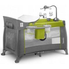 Maniežinė lovytė dviejų aukštų Lionelo Thomi Lemon