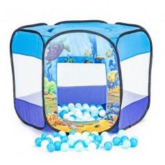 Pop Up žaidimų palapinė SEA su kamuoliukais