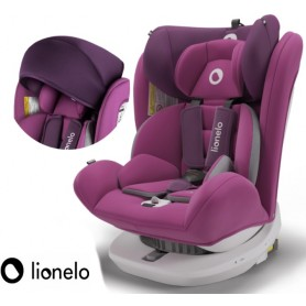 Autokėdutė Bastiaan su IsoFix Violet 360°