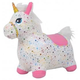 Guminis šokliukas su užvalkalu Unicorn