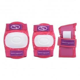 Alkūnių, riešų ir kelių apsaugos Pink
