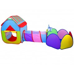 Žaidimų palapinė su tunėlių Play Tent