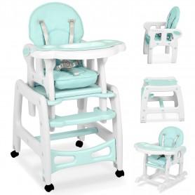 Maitinimo kėdutė-transformeris su lingėmis Mint Comfort