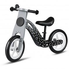 Balansinis dviratukas Black Vintage
