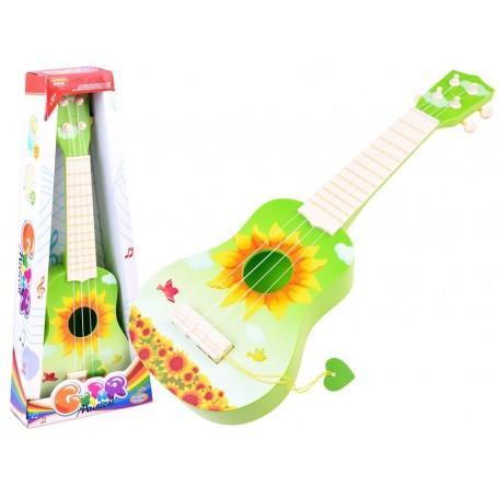 Vaikiškas plastikinė gitara SunFlower
