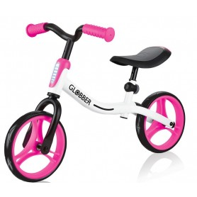 Globber balansinis dviratukas Go Bike Neon Pink