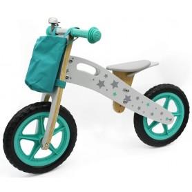 Balansinis dviratukas Stars su krepšeliu + skambutis