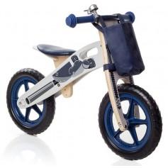 Balansinis dviratukas Moto su krepšeliu + skambutis