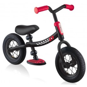 Globber balansinis dviratukas Go Bike AIR Black Red