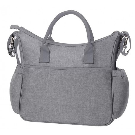 BabyOno krepšys So City Grey su vystymo paklotu