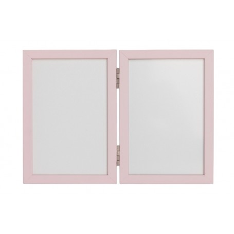 Dvigubas rėmelis su antspaudu Pink