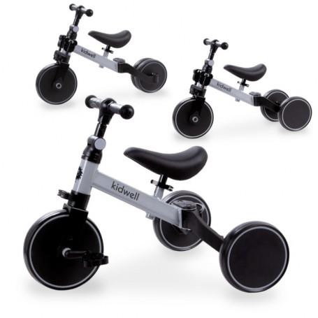 Triratukas su pedalais - balansinis dviratukas 3in1 Pico Grey