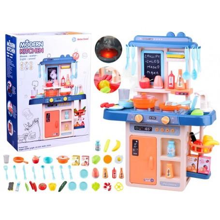 Virtuvėlė Blue su garso efektais, švieselėmis ir vandenuku