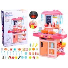 Virtuvėlė Pink su garso efektais, švieselėmis ir vandenuku