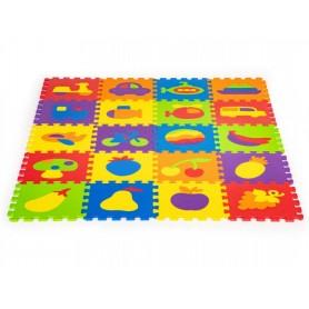 Dėlionė - kilimėlis su išimamais paveiksliukais
