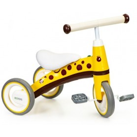 Mini triratukas su pedalais Yellow Dots
