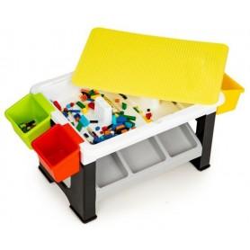 Kaladėlių stalas - komoda su 300 vnt. kaladėlių