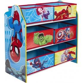 Žaislų lentyna - komoda Marvel Superherojai