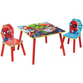 Staliukas su kėdutėmis Marvel Superherojai