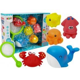 Semtuvas su purškiančiais maudynių žaislais Ocean