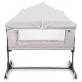 Pristatoma lovytė - lopšys su čiužinuku Alula Grey + apsauga nuo uodų
