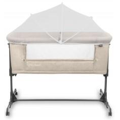 Pristatoma lovytė - lopšys su čiužinuku Alula Beige + apsauga nuo uodų