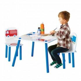 Vaikiškas staliukassu kėdutėmis Mašinytės