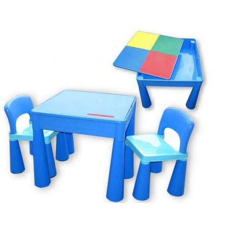 Vaikiškas stalas su 2 kėdutėmis